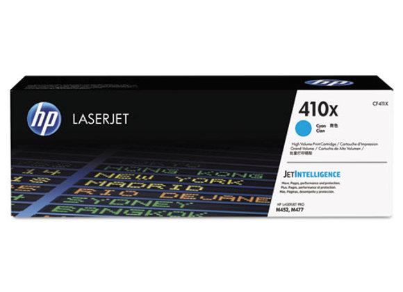 HP 410X High Yield Cyan Original LaserJet Toner Cartridge, CF411X