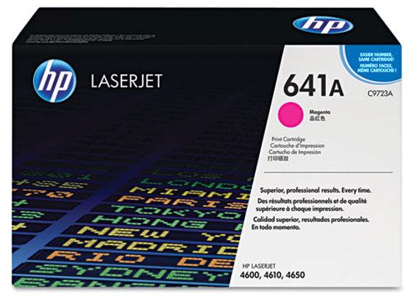 HP 641A, (C9723A) Magenta Original LaserJet Toner Cartridge