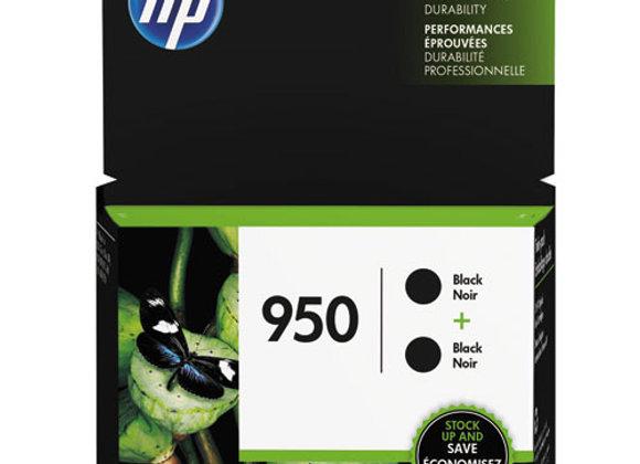 HP 950, (L0S28AN) 2-Pack Black Original Ink Cartridges