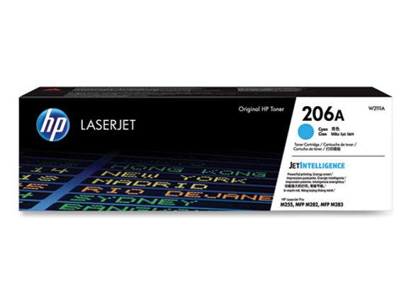 HP 206A - Cyan - Original - Laserjet - Toner Cartridge (W2111A)
