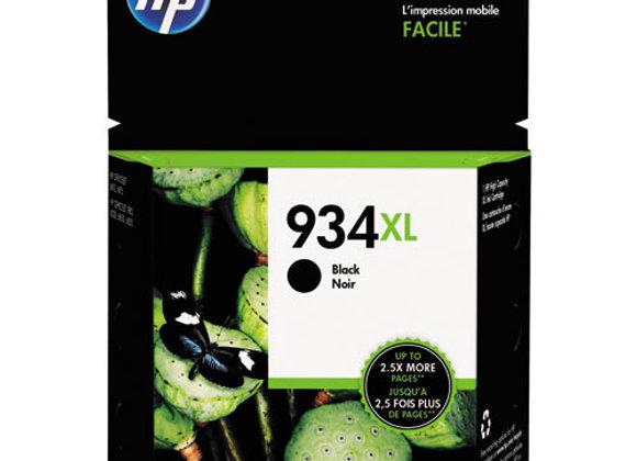 HP 934XL, (C2P23AN) High-Yield Black Original Ink Cartridge