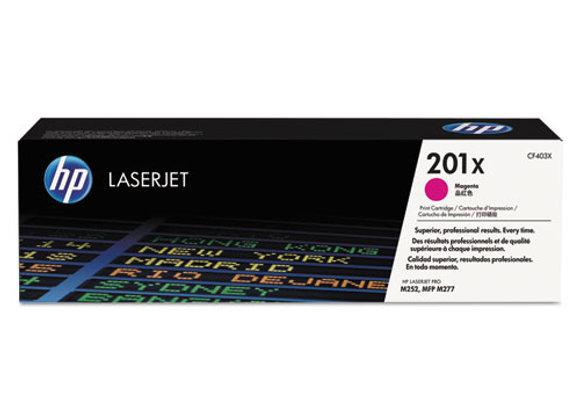 HP 201X High Yield Magenta Original LaserJet Toner Cartridge, CF403X