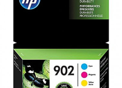 HP 902 T0A38AN Cyan, Magenta & Yellow Color Combo 3-pack