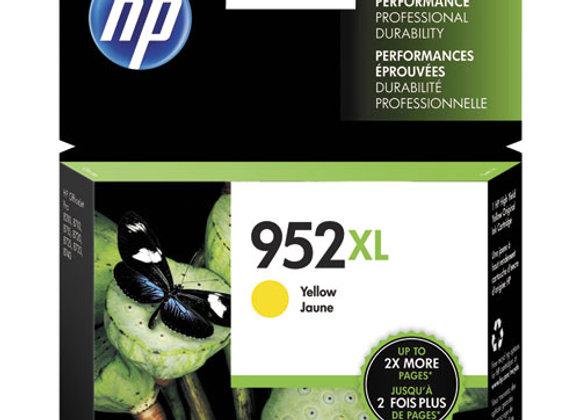 HP 952XL, (L0S67AN) High-Yield Yellow Original Ink Cartridge