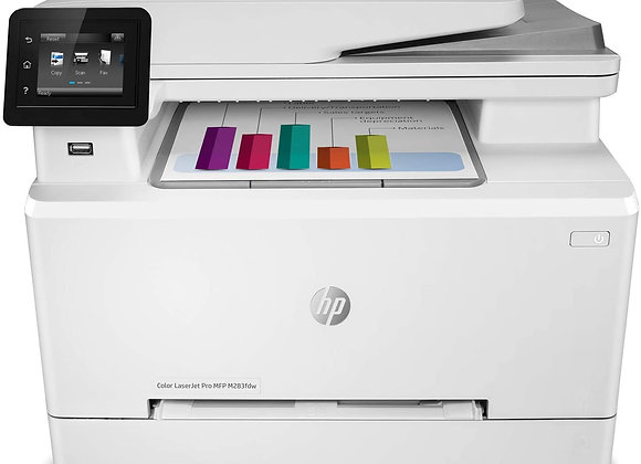 HP Color LaserJet Pro MFP M283fdw - Multifunction Printer - Color (7KW75A)