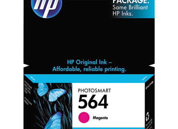 HP 564, (CB319WN) Magenta Original Ink Cartridge