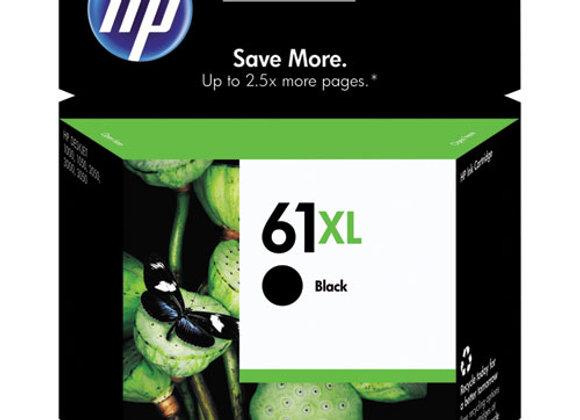 HP 61XL, (CH563WN) High-Yield Black Original Ink Cartridge
