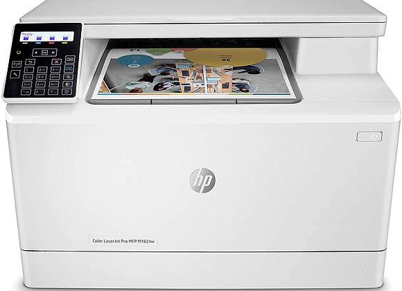 HP Color LaserJet Pro MFP M182nw - Multifunction Printer - Color (7KW55A)