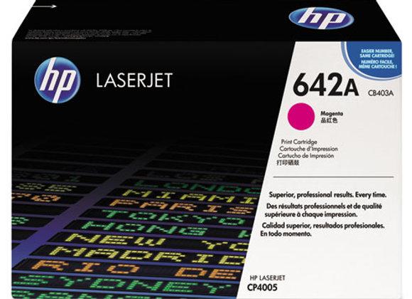 HP 642A, (CB403A) Magenta Original LaserJet Toner Cartridge