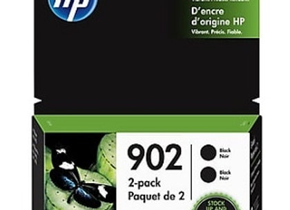 HP 902 Black 3YL96AN Genuine Ink Cartridges 2-pack