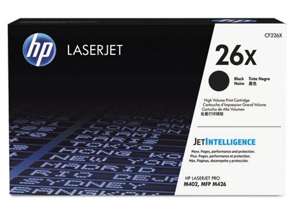 HP 26X - High Yield - Black - Original - LaserJet - Toner Cartridge (CF226X)