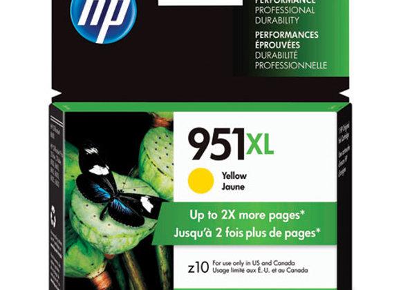 HP 951XL High Yield Yellow Original Ink Cartridge, CN048AN#140