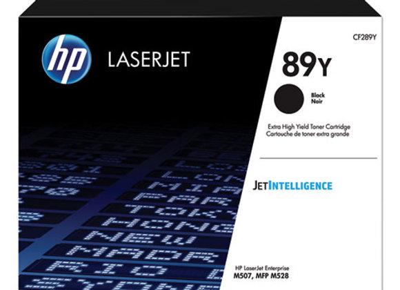 HP 89Y - Extra High Yield - Black - original - LaserJet - toner cartridge CF289Y