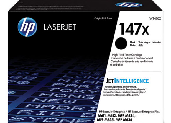 HP 147X – Black – Original – Laserjet – Toner Cartridge (W1470X)