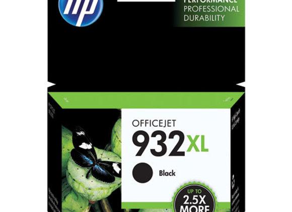 HP 932XL High Yield Black Original Ink Cartridge, CN053AN#140