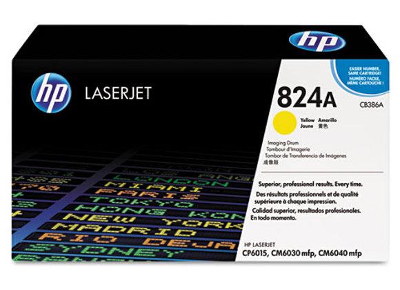 HP 824A Yellow LaserJet Image Drum, CB386