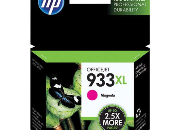 HP 933XL High Yield Magenta Original Ink Cartridge, CN055AN#140