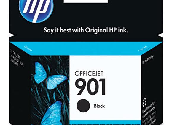 HP 901 Black Original Ink Cartridge, CC653AN#140