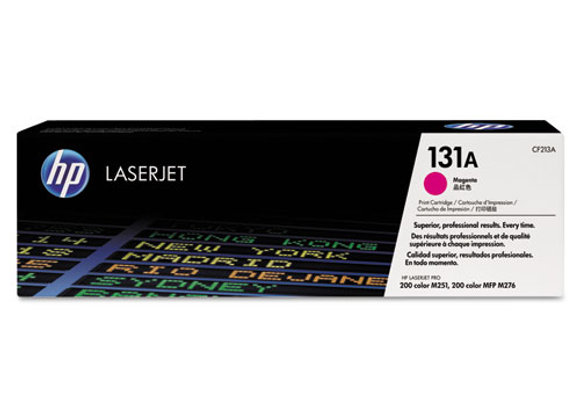 HP 131A Magenta Original LaserJet Toner Cartridge, CF213A