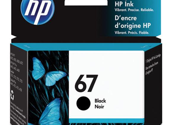 HP 67, (3YM56AN) Black Original Ink Cartridge
