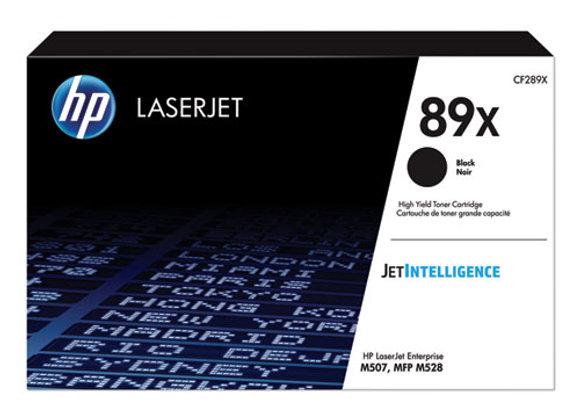 HP 89X - High Yield - Black - original - LaserJet - toner cartridge (CF289X)