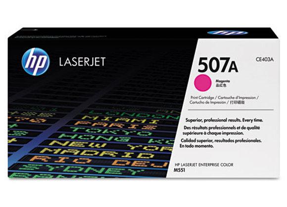 HP 507A Magenta Original LaserJet Toner Cartridge, CE403A