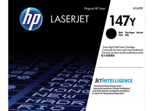 HP 147Y – Xtra High Yield - Black – Original – Laserjet – Toner Cartridge W1470Y