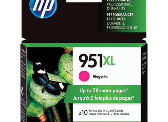 HP 951XL High Yield Magenta Original Ink Cartridge, CN047AN#140