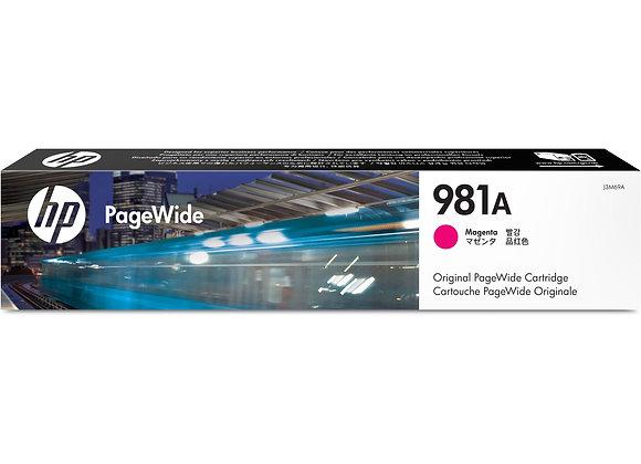 HP 981A Magenta Original PageWide Cartridge, J3M69A