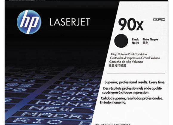 HP 90X High Yield Black Original LaserJet Toner Cartridge, CE390X