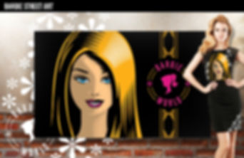 Barbie apparel design