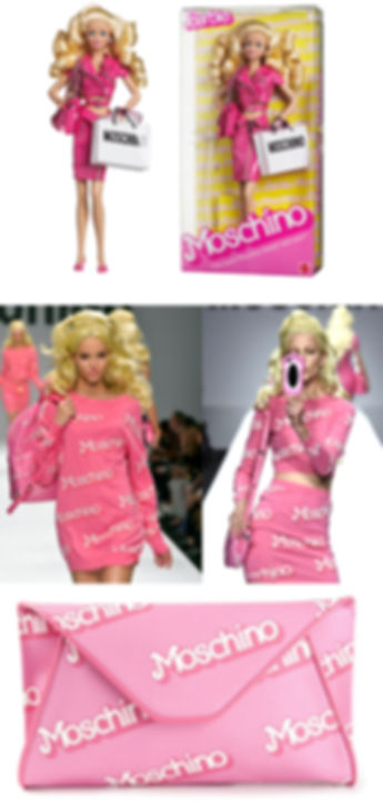 Barbie Moschino Doll design
