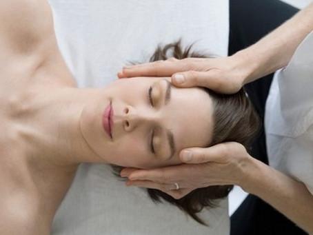 Massage détente visage et crâne
