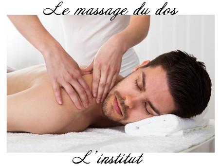 Le massage du dos