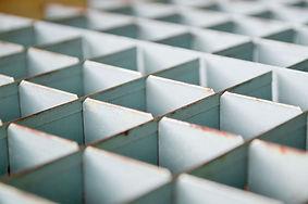 Grey Cubicles