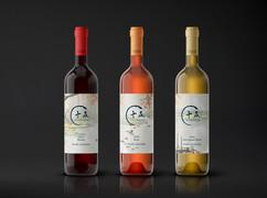 Art Series I Wine label set