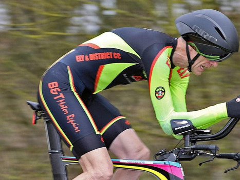 ELY RIDERS BRAVE THE WIND AND COLD