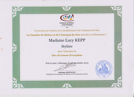 Prix Chambre des Métiers