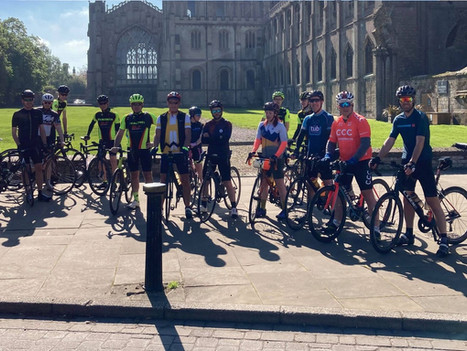 CATHEDRAL RIDE FROM ELY TO NORWICH - AND BACK