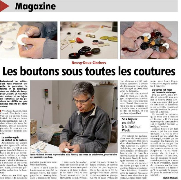 Article Yann Pétillaut