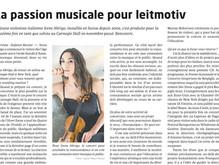 PORTRAIT-INTERVIEW on the Révue Musicale Suisse / Musik Zeitung