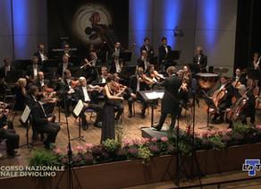 """Finalist at the Violin Competition  """"Città di Vittorio Veneto""""!"""