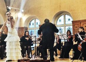 Soloist debut in Czech Republic