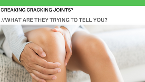 Crunching, creaking, cracking: Your joints are talking to you, should you be worried?