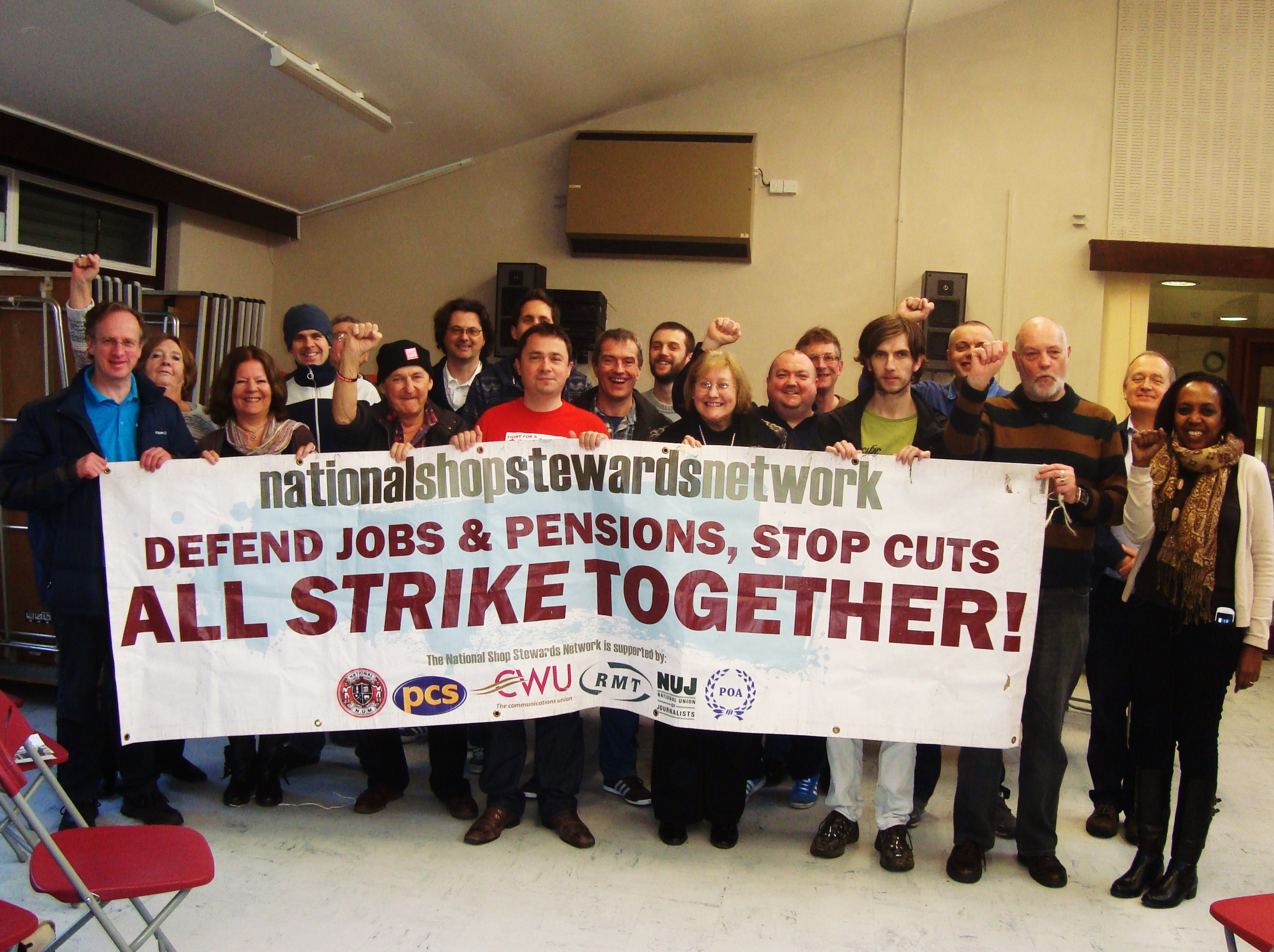 18.1.'14.a Nat'l. Shop Stewards Network Conf'ce. at Priestwood.JPG