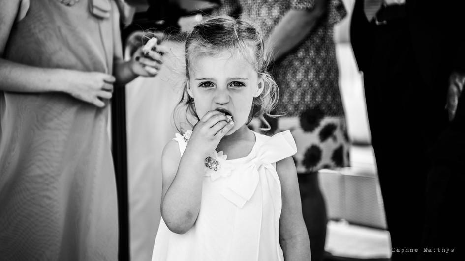Kids on a wedding