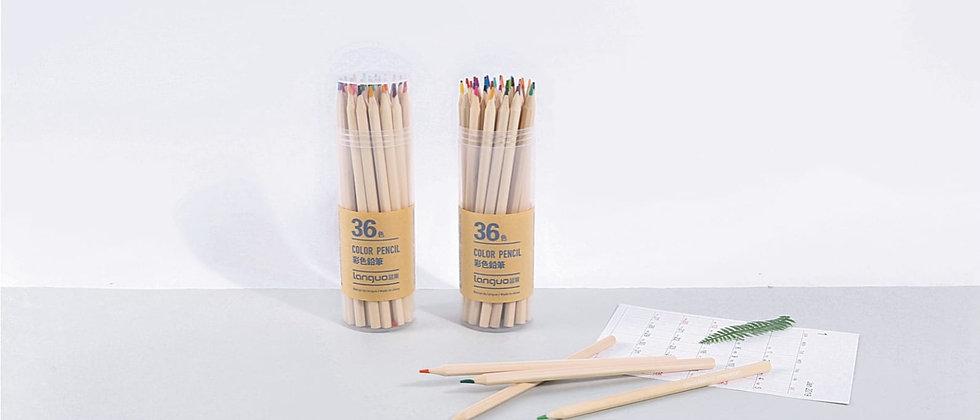 מארז 36 עפרונות צבעוניים