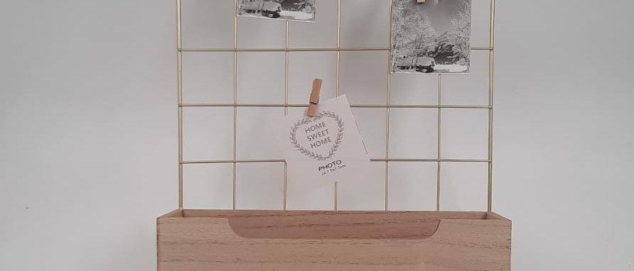 לוח השראה עם קופסה