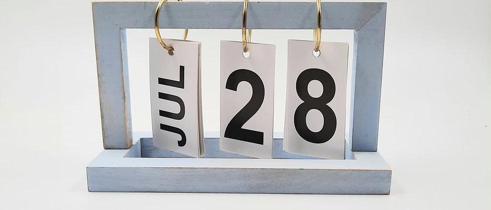 לוח שנה-תאריכים מתחלפים