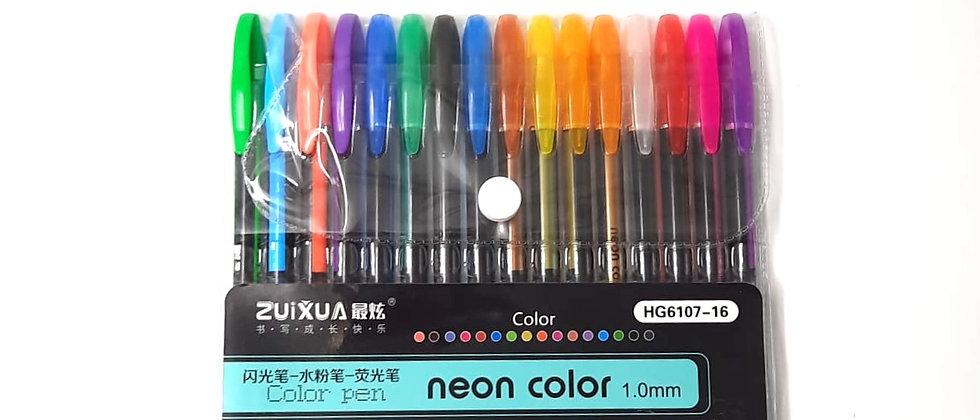 חבילת עטים נאון